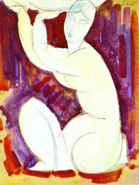 caryatid 1913 XX private collection